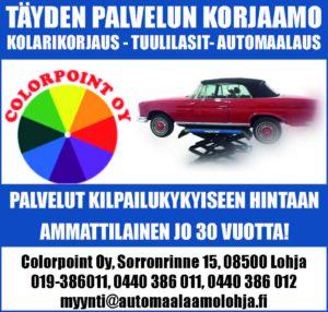 Autokorjaamo ja -maalaamo Colorpoint