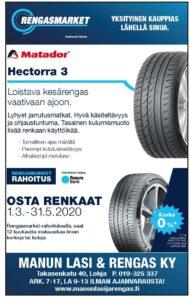 Manun Lasi&Rengas auttaa rengasasioissa